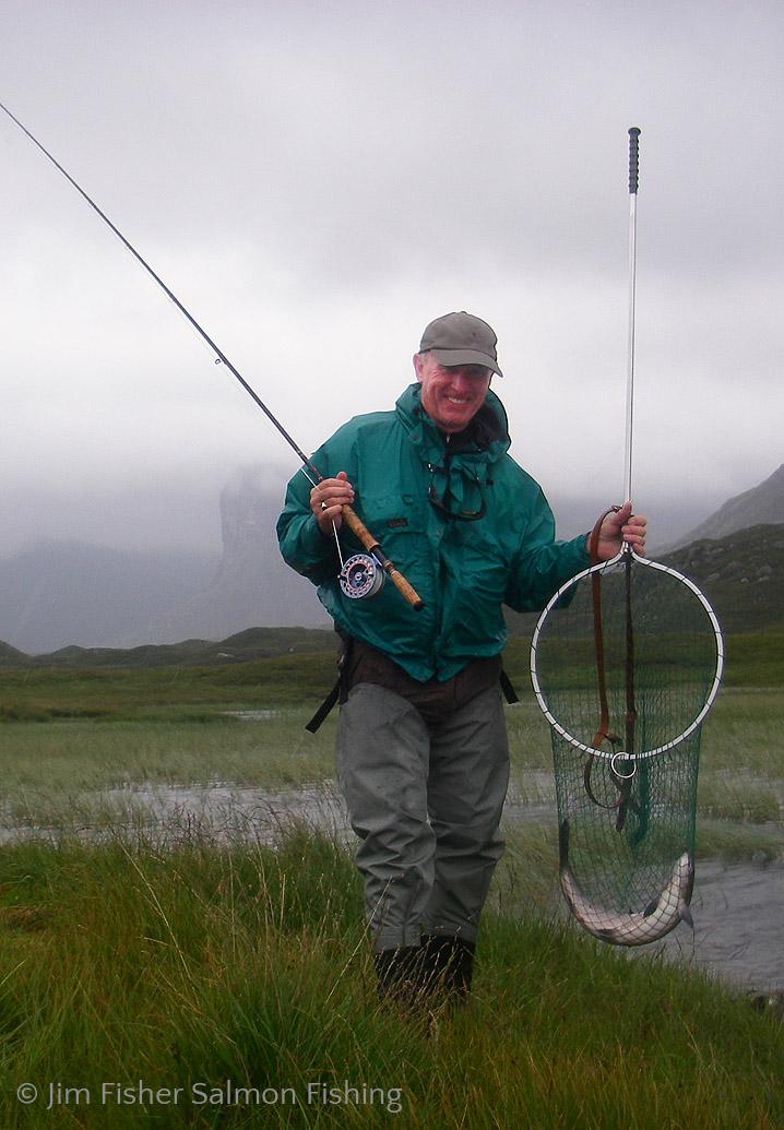 Jim Fisher Salmon Fishing