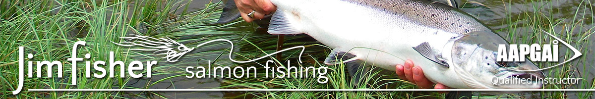 Jim Fisher Salmon Fishing Tuition