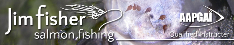 Jim Fisher Salmon Fishing Tuition