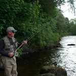 Playing a Tummel springer