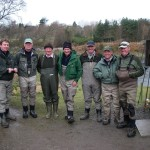 A strong team at Invery, River Dee